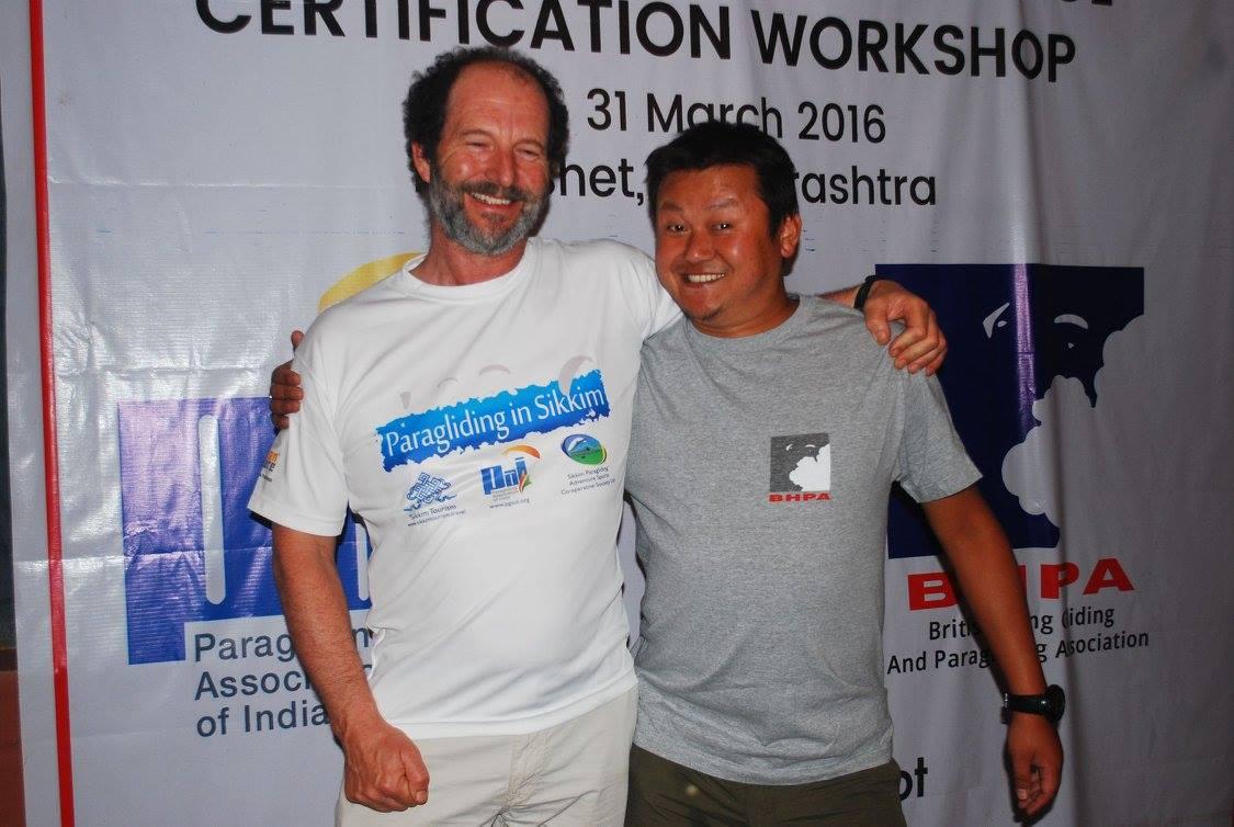 Raju Rai and Ian Currer
