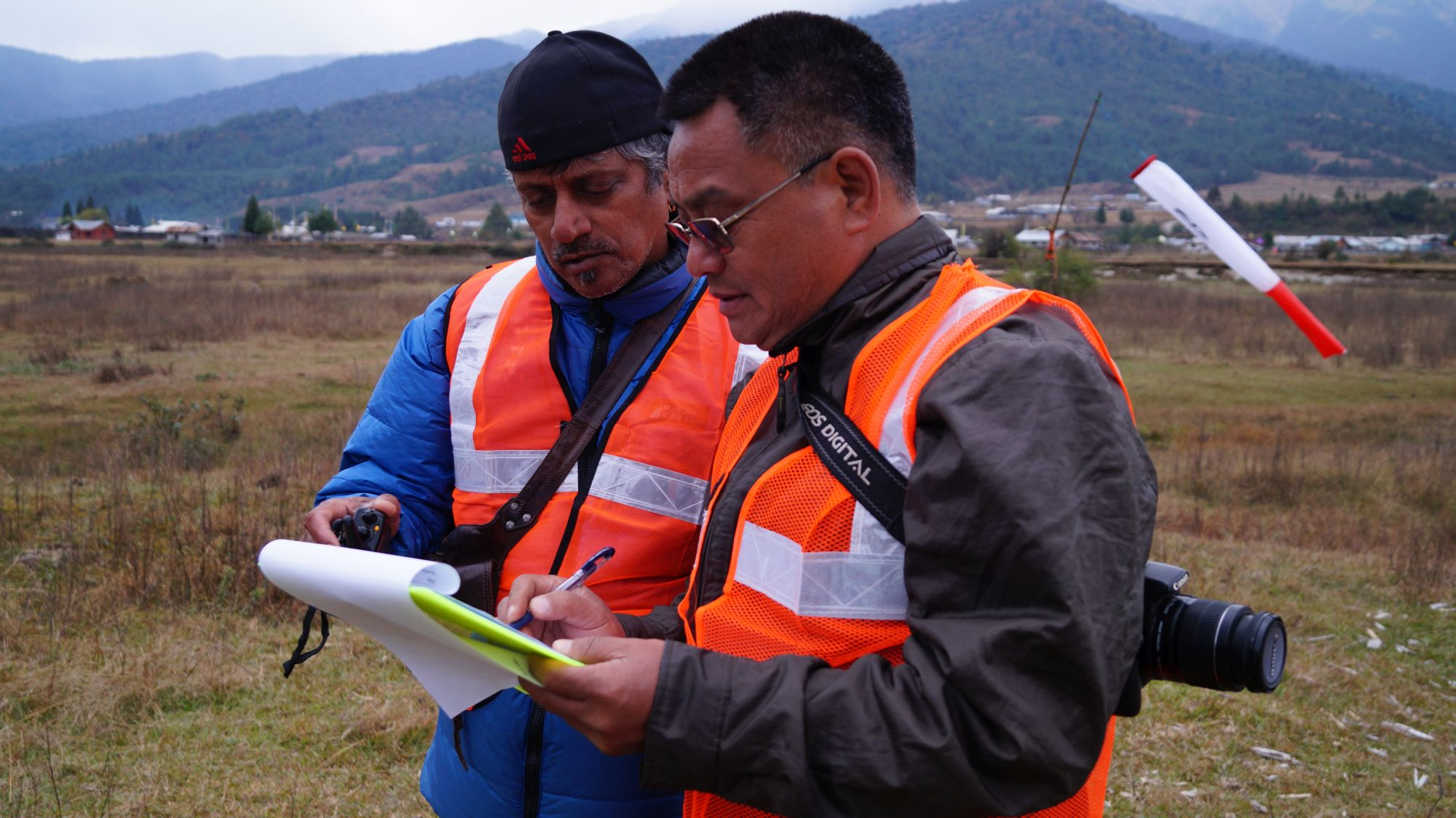 Event Meet Director - Sanjay Pendurkar and Vijay Sonam, President, Paragliding Association of Arunachal Pradesh