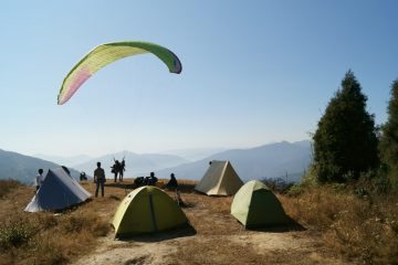 Paragliding and Highland Camping