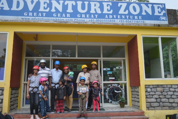 Adventure zone Sikkim office at Gangtok