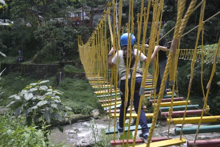 Basoon chair rope activity in Gangtok