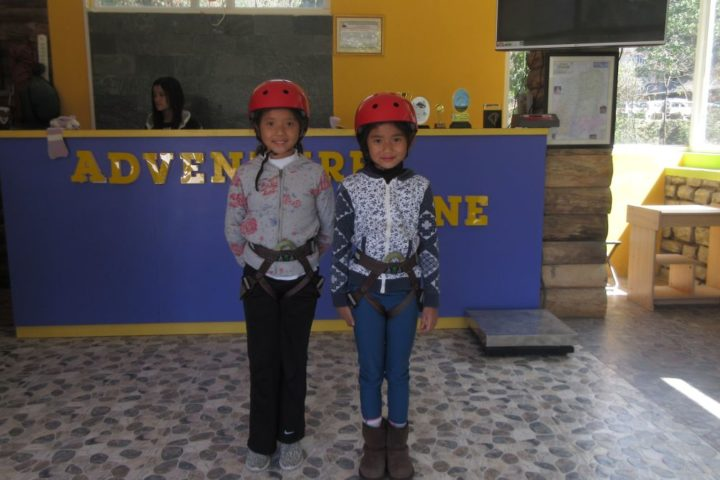 adventure for all age groups at adventure zone sikkim