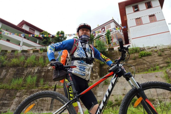 Mountain Biking in Gangtok,Sikkim