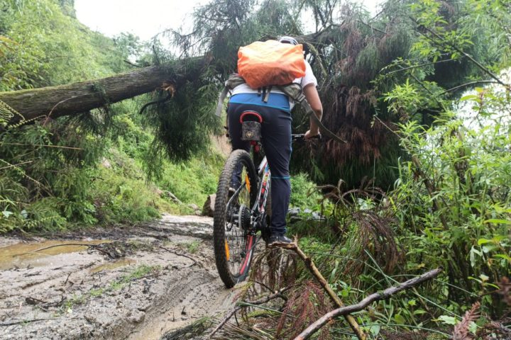 Raiding the mountain bike trails in Gangtok,Sikkim