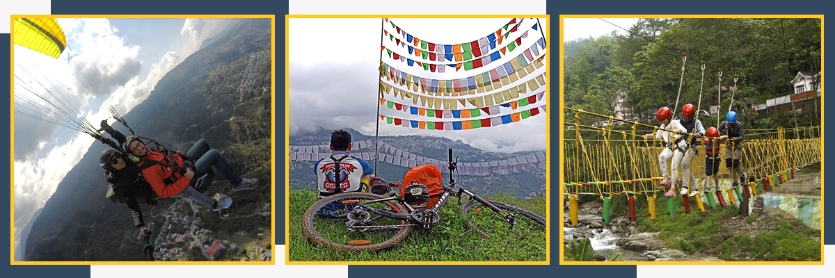 Adventure in Sikkim